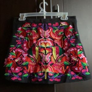 ASOS embroidered skirt size 6